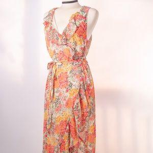 Guess Wrap Dress Floral